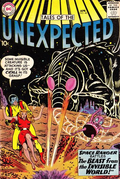 Cover for Tales of the Unexpected (DC, 1956 series) #48