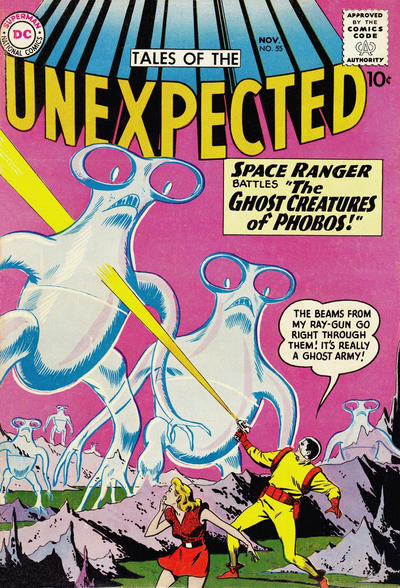 Cover for Tales of the Unexpected (DC, 1956 series) #55