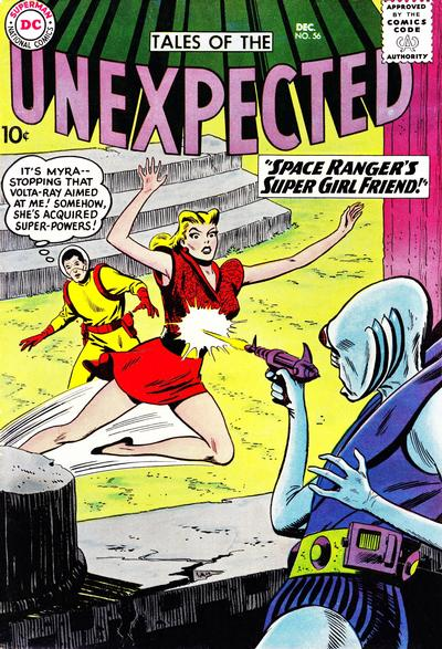 Cover for Tales of the Unexpected (DC, 1956 series) #56