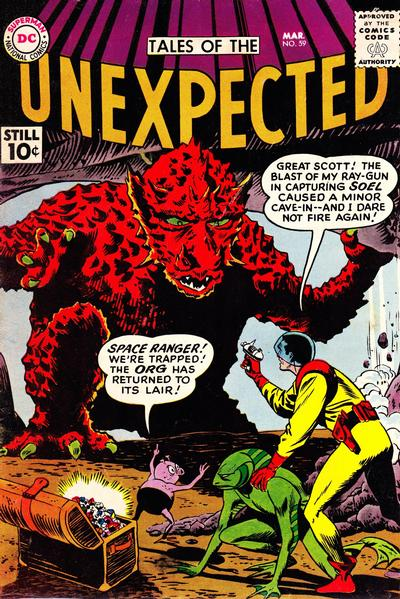 Cover for Tales of the Unexpected (DC, 1956 series) #59