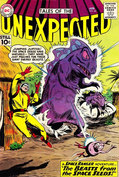 Cover for Tales of the Unexpected (DC, 1956 series) #60