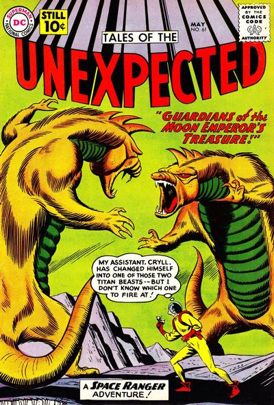 Cover for Tales of the Unexpected (DC, 1956 series) #61