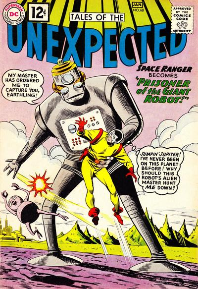 Cover for Tales of the Unexpected (DC, 1956 series) #68