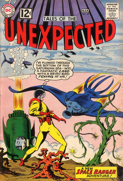 Cover for Tales of the Unexpected (DC, 1956 series) #69