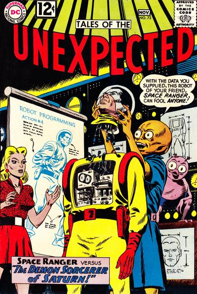 Cover for Tales of the Unexpected (DC, 1956 series) #73