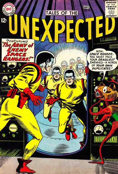 Cover for Tales of the Unexpected (DC, 1956 series) #78