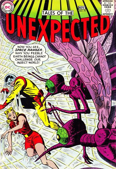 Cover for Tales of the Unexpected (DC, 1956 series) #79