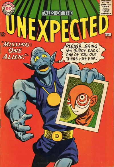 Cover for Tales of the Unexpected (DC, 1956 series) #84