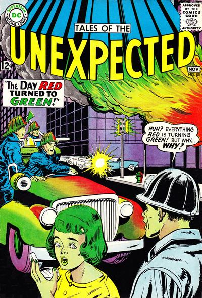 Cover for Tales of the Unexpected (DC, 1956 series) #85