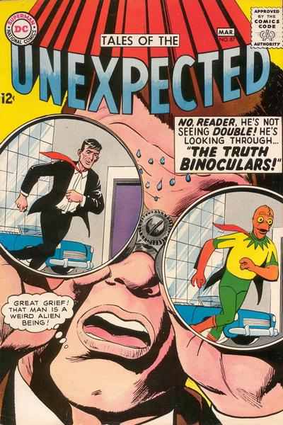Cover for Tales of the Unexpected (DC, 1956 series) #87
