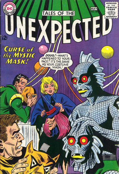 Cover for Tales of the Unexpected (DC, 1956 series) #88
