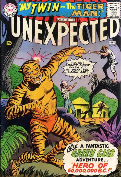 Cover for Tales of the Unexpected (DC, 1956 series) #90