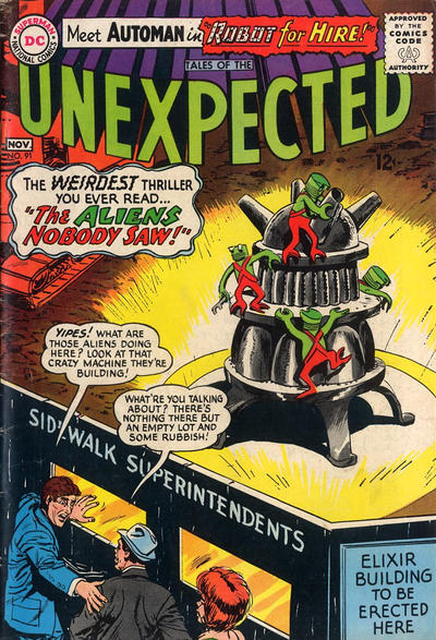 Cover for Tales of the Unexpected (DC, 1956 series) #91