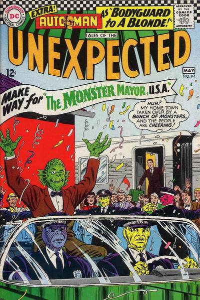 Cover for Tales of the Unexpected (DC, 1956 series) #94