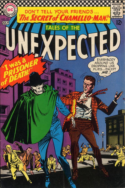 Cover for Tales of the Unexpected (DC, 1956 series) #95