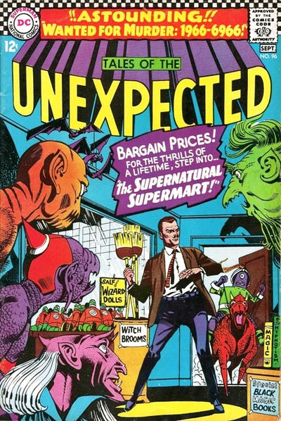 Cover for Tales of the Unexpected (DC, 1956 series) #96