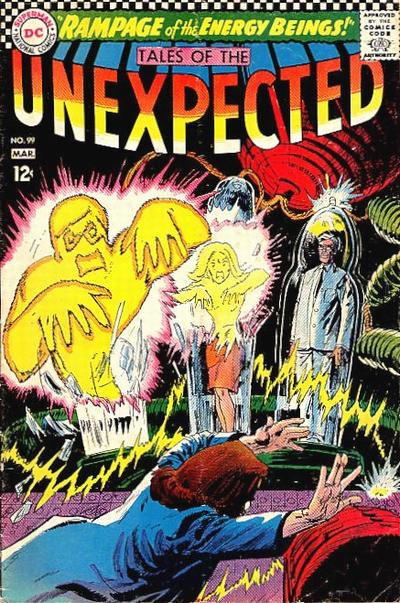 Cover for Tales of the Unexpected (DC, 1956 series) #99