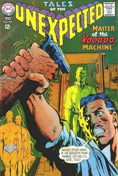 Cover for Tales of the Unexpected (DC, 1956 series) #104