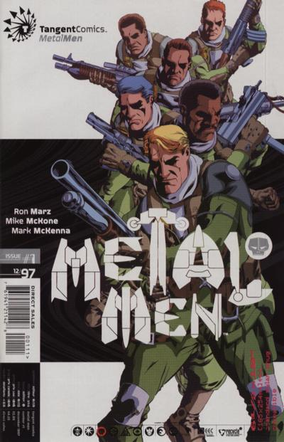 Cover for Tangent Comics / Metal Men (DC, 1997 series) #1