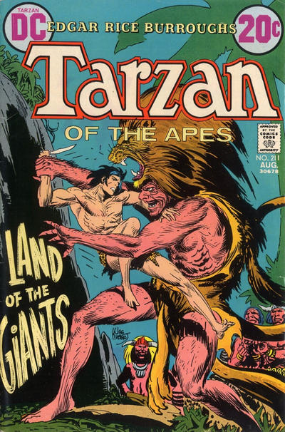 Cover for Tarzan (DC, 1972 series) #211