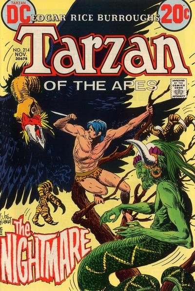 Cover for Tarzan (DC, 1972 series) #214