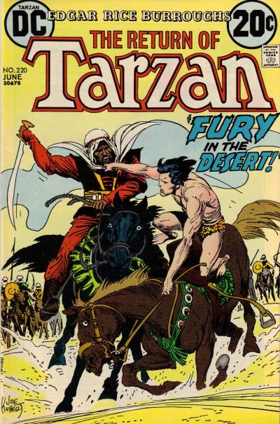 Cover for Tarzan (DC, 1972 series) #220
