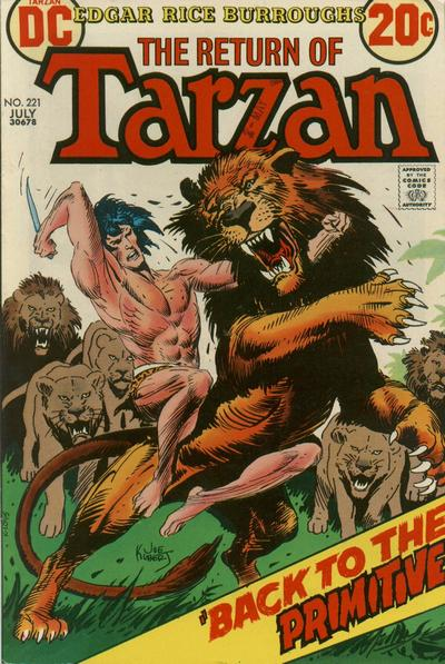 Cover for Tarzan (DC, 1972 series) #221