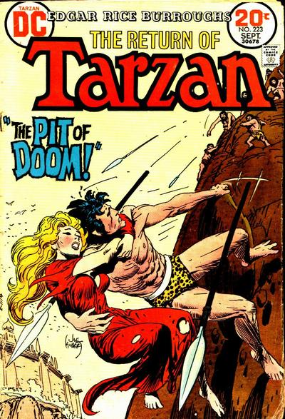 Cover for Tarzan (DC, 1972 series) #223