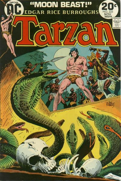 Cover for Tarzan (DC, 1972 series) #225