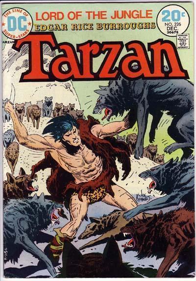 Cover for Tarzan (DC, 1972 series) #226