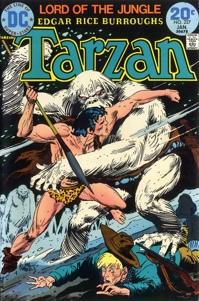Cover for Tarzan (DC, 1972 series) #227
