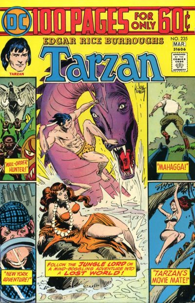 Cover for Tarzan (DC, 1972 series) #235