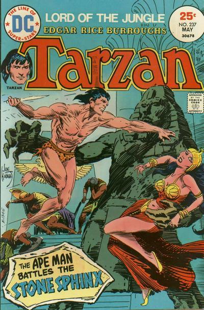 Cover for Tarzan (DC, 1972 series) #237