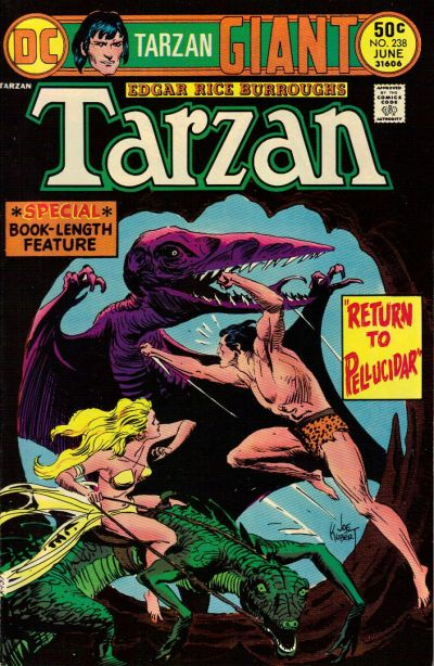 Cover for Tarzan (DC, 1972 series) #238