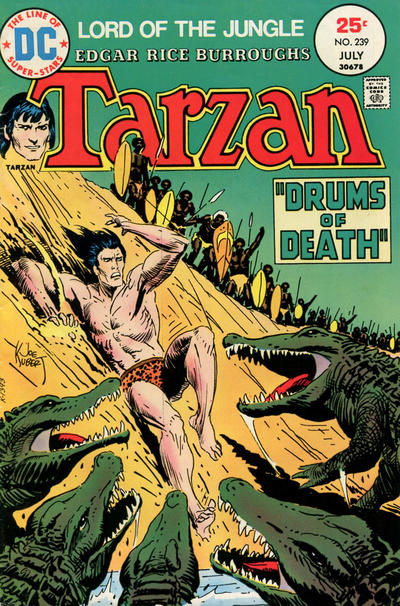 Cover for Tarzan (DC, 1972 series) #239