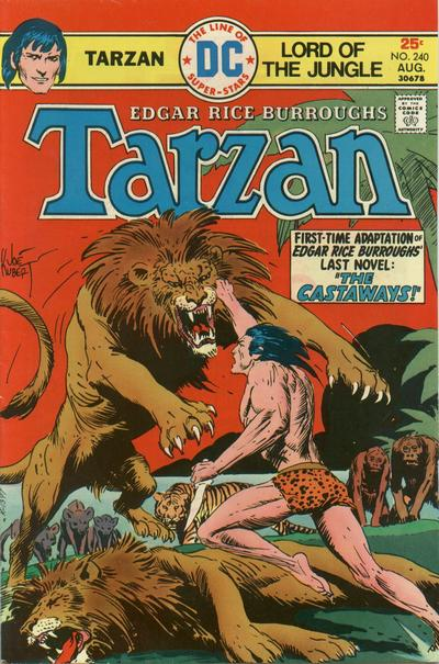 Cover for Tarzan (DC, 1972 series) #240