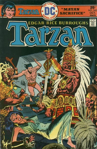 Cover for Tarzan (DC, 1972 series) #242
