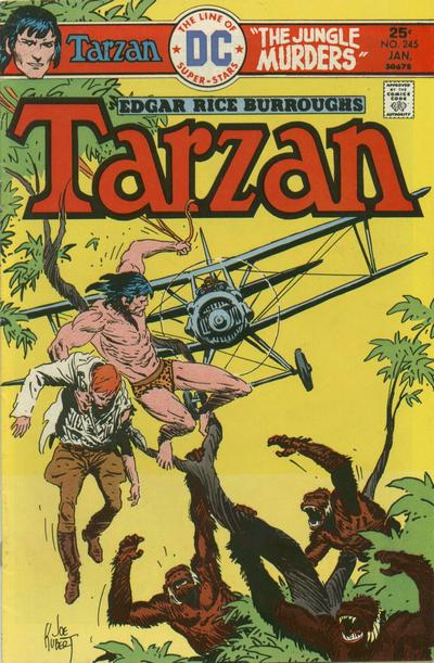 Cover for Tarzan (DC, 1972 series) #245