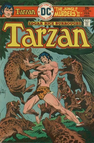 Cover for Tarzan (DC, 1972 series) #246