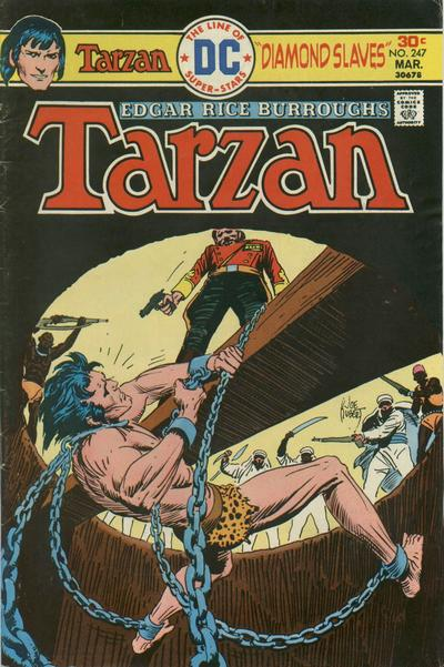 Cover for Tarzan (DC, 1972 series) #247