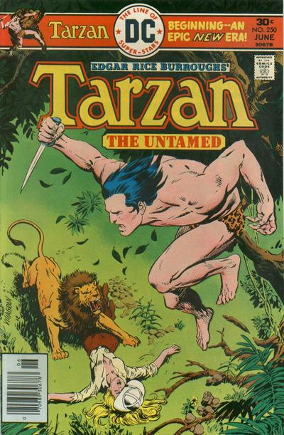 Cover for Tarzan (DC, 1972 series) #250