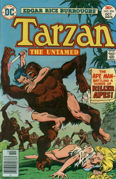 Cover for Tarzan (DC, 1972 series) #254