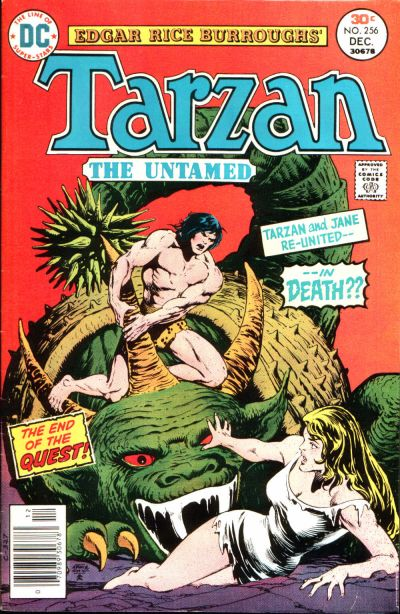 Cover for Tarzan (DC, 1972 series) #256