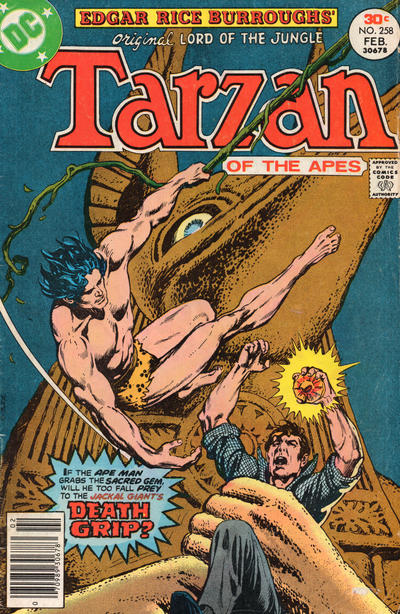 Cover for Tarzan (DC, 1972 series) #258