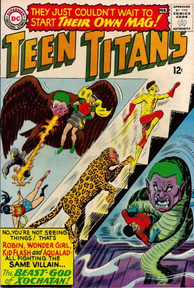 Cover for Teen Titans (DC, 1966 series) #1