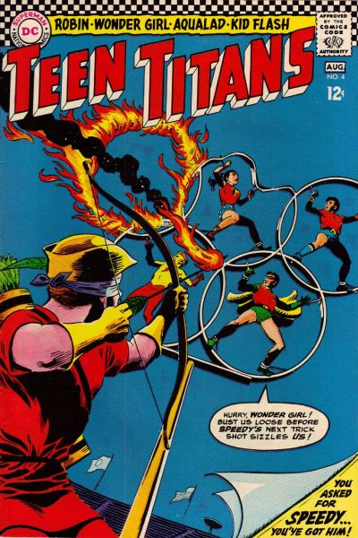 Cover for Teen Titans (DC, 1966 series) #4