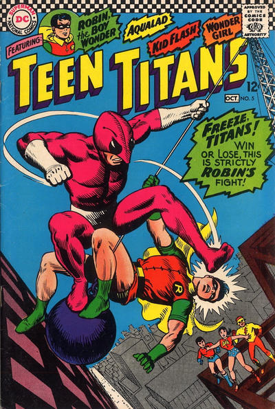 Cover for Teen Titans (DC, 1966 series) #5