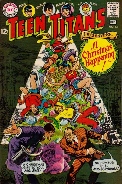 Cover for Teen Titans (DC, 1966 series) #13