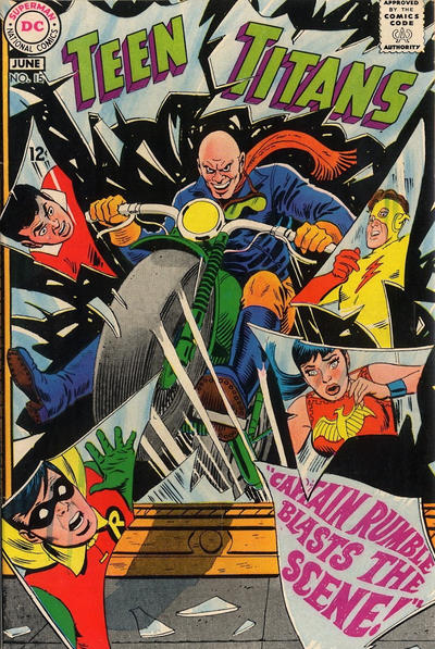 Cover for Teen Titans (DC, 1966 series) #15