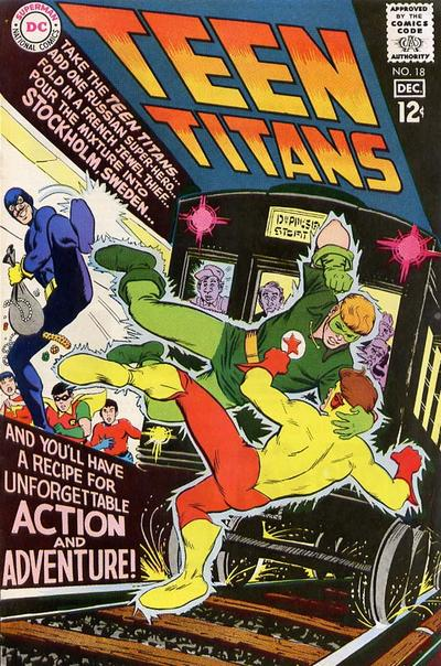 Cover for Teen Titans (DC, 1966 series) #18
